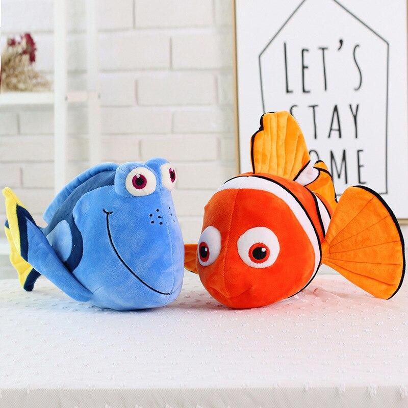 23cm Simulatie buscando Nemo Dory Knuffels Knuffeldier Dory película payaso lindo Vis zachte Pop chico Mooie Kerst regalo Anime
