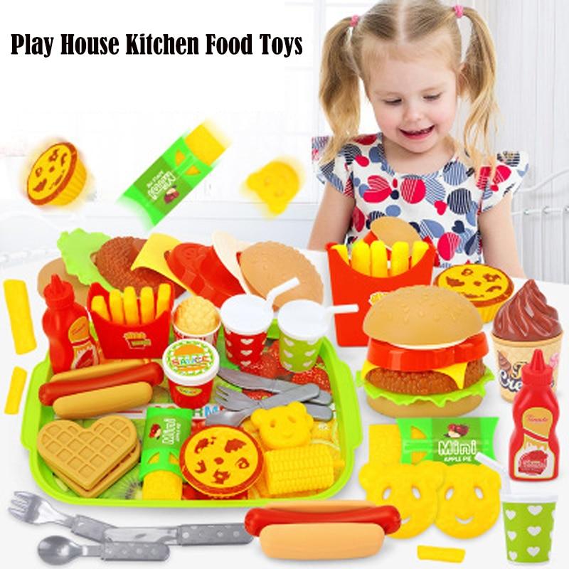 Juguetes Educativos de cocina para niños, casa de juego de 16 Uds., 22 Uds.