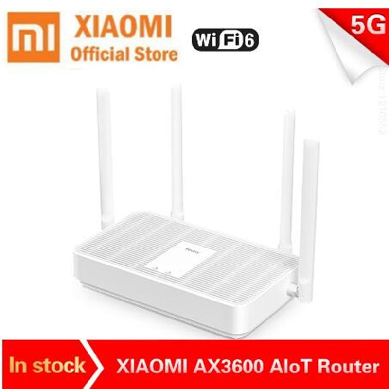 Neue Xiaomi Redmi Router AX5 wifi 6 Qualcomm 5-core 5G 2,4G dual Frequenz Mesh networking 4 high Gain Antennen wireless router