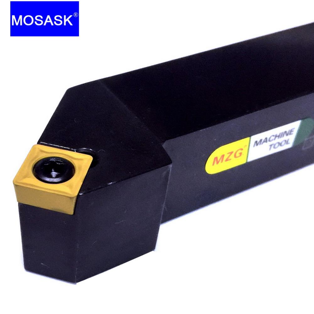 MOSASK SSSCR1616H09 Square Handle Bar SSSCR Cutter Adapter Indexable Carbide Insert CNC Lathe External Turning Tools