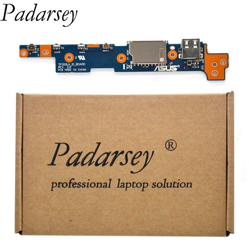 بادارسي استبدال زر الطاقة التبديل IO USB SD بطاقة المجلس ASUS Q302 Q302L Q302LA Q302U Q302UA TP300 TP300L TP300LA TP300LD