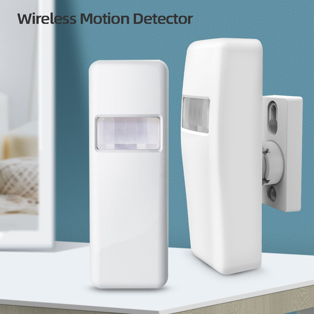 MULO Wireless 433MHz Infrared PIR Motion Detector for PG103 PG105 PG106 PG107 Security Alarm system