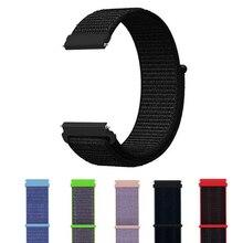 18mm sport strap für Fossil Gen 4 Q Venture HR / Gen 3 Q Venture Smartwatch Nylon armband armband band für Huawei ehre S1 gürtel