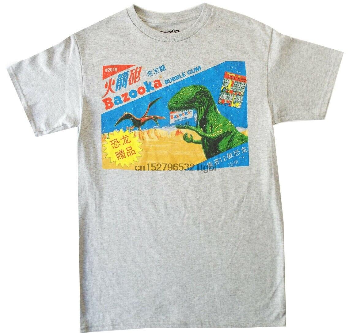Camiseta Bazooka Joe Gum S-L-XL) para hombre, superfan de caramelos japoneses prehistórico, nueva camiseta Cool Casual pride, moda Unisex para hombres
