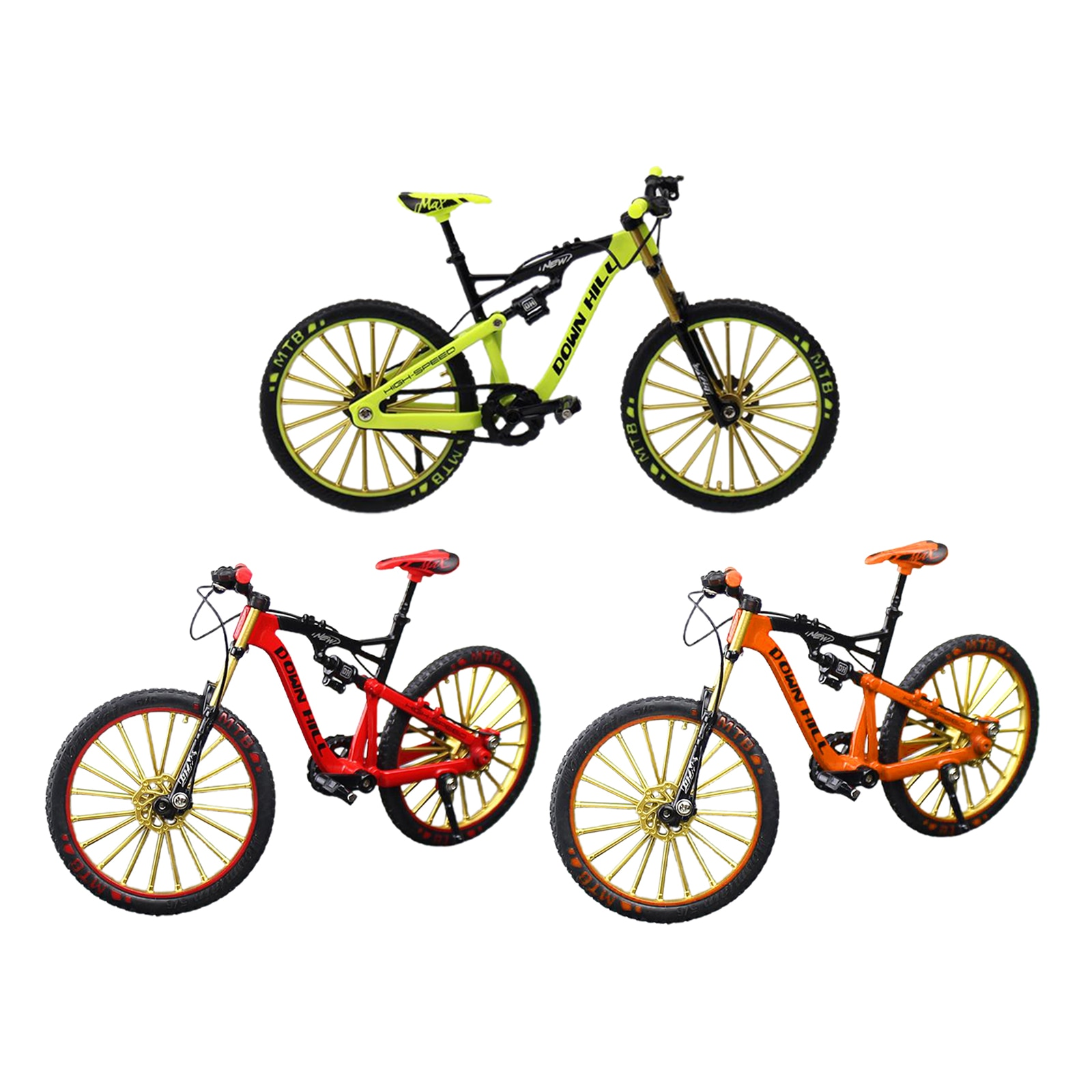 Miniature Finger Mountain Riding Bike Model Toy Collection Hobby Toys