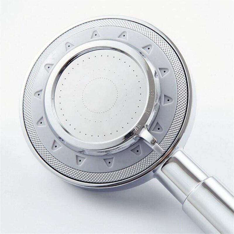 Большая круглая хромированная дождевая насадка MJEBM из АБС-пластика для ванной комнаты, экономия воды, классический дизайн