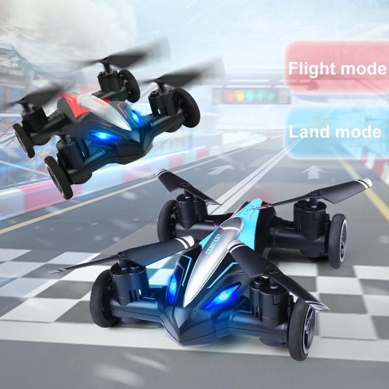 New Type Remote Control Plane, Remote Control Car, Land/sky 2 In1 Mini Remote Control Toy, Novelty C