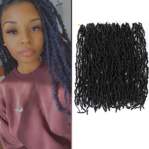 Saisity 22inches Ombre Synthetic Pre-looped Crochet  Braiding Hair 10strands Pre Twisted Passion Twist Crochet Hair