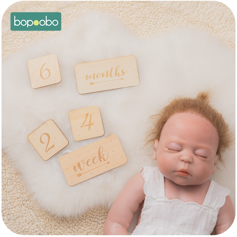 7 шт., Детские карты для фотосъемки, квадратная форма, карты для новорожденных, памятные карты, ежемесячный реквизит для фотосъемки, игрушечн...