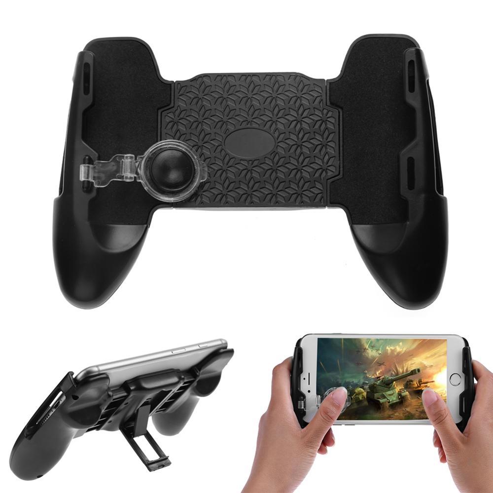 3 en 1 Joystick PUBG almohadilla de juego agarre mango extendido controlador de juego ventosa Gamepad soporte de teléfono móvil para teléfono de 4,5-6,5 pulgadas