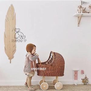 Dvotinst Newborn Photography Props for Baby Retro Rattan Trolley Stroller Fotografia Accessories Studio Shoots Photo Props