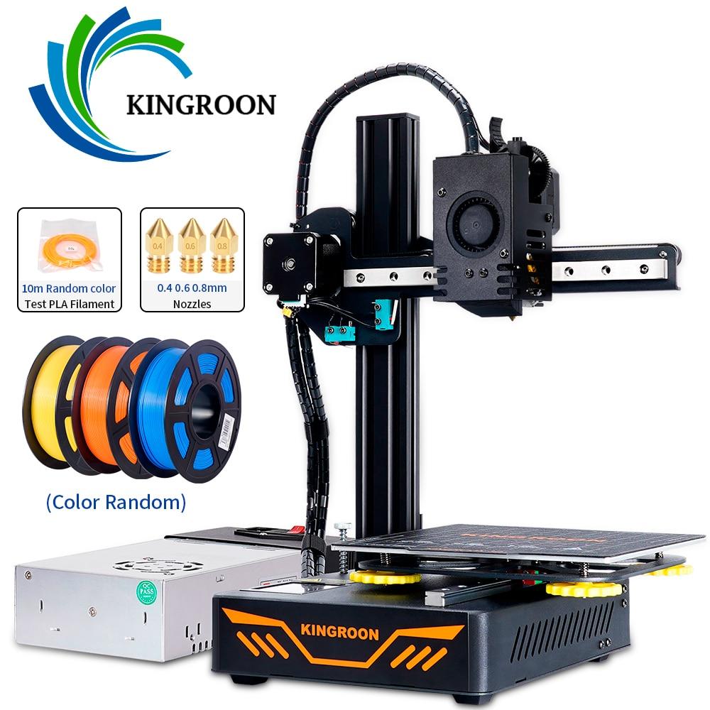 KINGROON KP3S 3D Printer High Precision Printing Upgraded DIY 3d printer Kit Touch Screen Printing Size 180*180*180mm