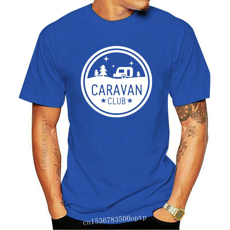 CARAVAN CLUB MENS T SHIRT FUNNY INBETWEENERS JAY SIMON WILL NEIL JOKE TOP