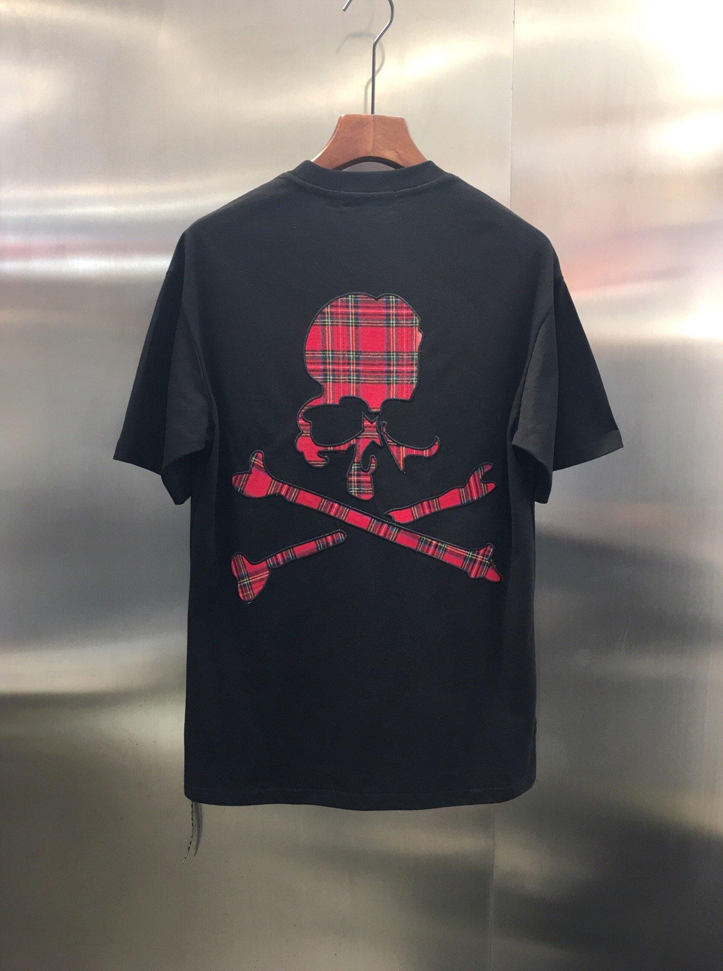 20ss футболка Mastermind 11 высокое качество Япония большой красный череп ммдж футболка уличная harajuku xxxtentacion Mastermind футболки