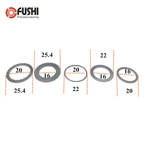 6PCS Saw blade reducer ring washer Inner hole adapter ring alloy cutting piece reducer ring Saw blade aperture change washer