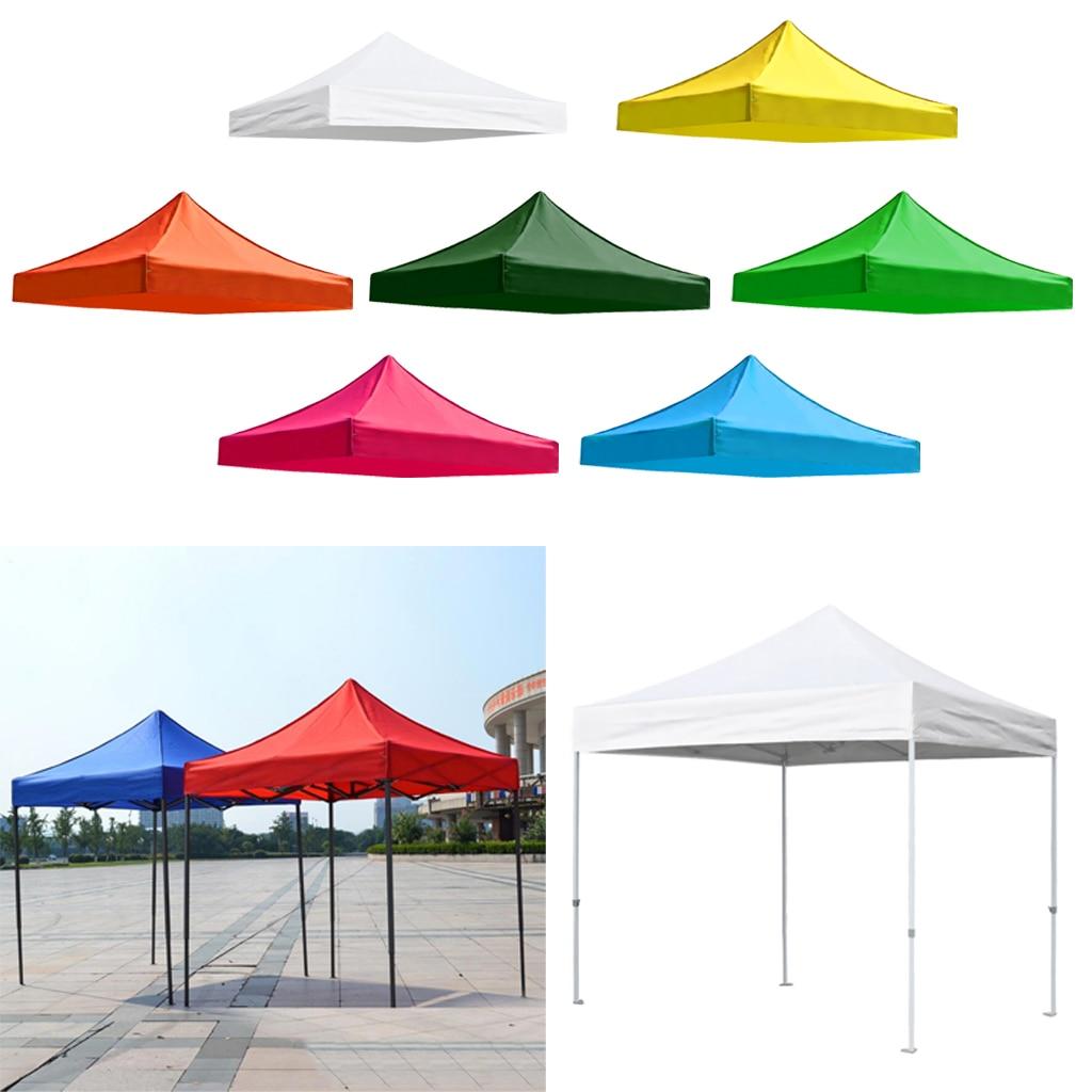 استبدال غطاء مظلة العلوي الباحة خيمة ظلة المأوى المطر قماش القنب التخييم الشمس المأوى الملحقات