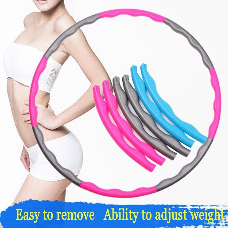 Съемное кольцо для гимнастики для взрослых, профессиональный массаж, спорт, снижение веса, фитнес, для женщин, кинетическое сопротивление, круг для спортзала