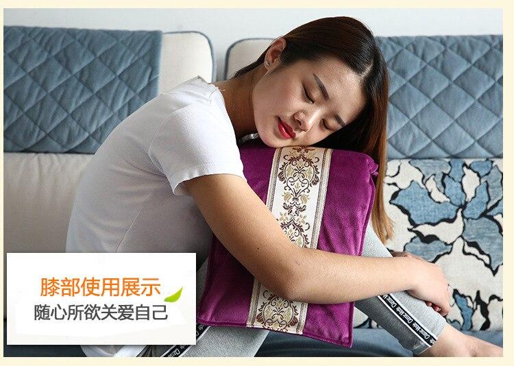 Smart Usb Heated Knee Pads Electric Blanket Heated Electric Blanket Infrared Sauna Manta Electrica Lumbar Heating Pad EA6DRT enlarge