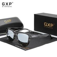 GXP 2021 New Fashion TR90 Leopard Print Frame Square Polarized Ultralight Sunglasses Men Women UV400