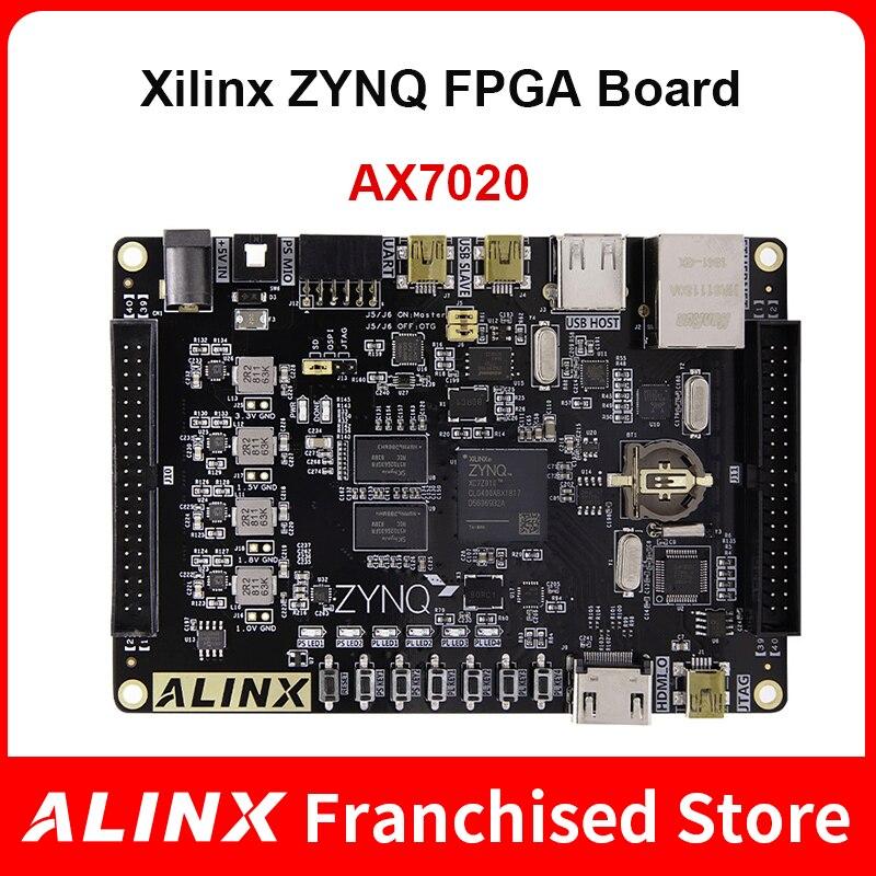 ALINX AX7020: XILINX Zynq-7000 ARM SoC XC7Z020 FPGA  Board 7000 7020 AI PYNQ Python