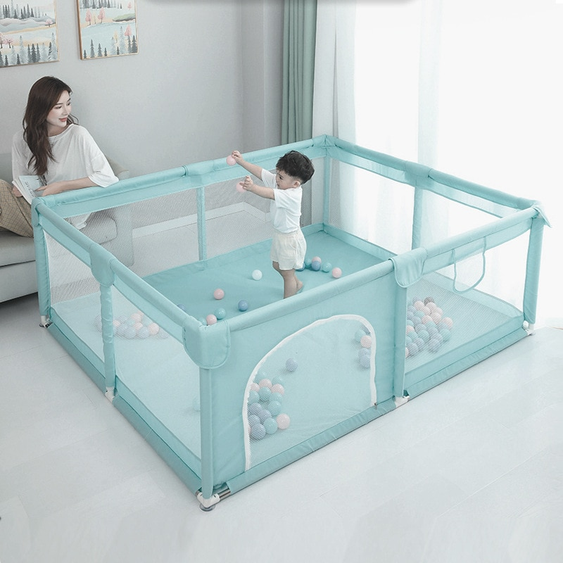 66CM Height Indoor Playground PVC Baby Safety Fence Large And Baby Playpen  Play Yard for Infant Toddlers Game Fence