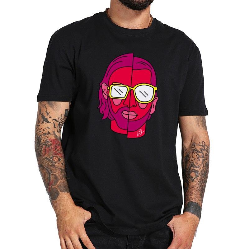 PNL Tshirt Le Monde Chico Trap Rap T Shirt Casual Comfortable Short Sleeve Homme EU Size 100% Cotton Tee Shirt