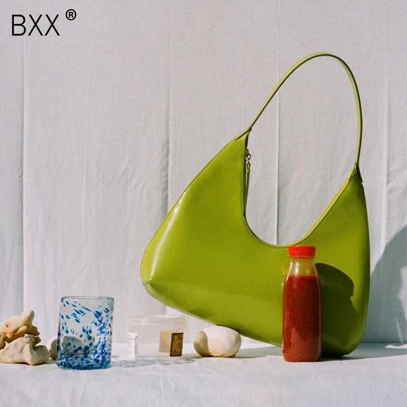 [BXX] Women's Single Shoulder Crossbody Bag All-match Flap 2021 Brand Designer Tide Package Temperament Handbag Clutch HG896