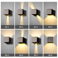 Applique murale reglable conforme a la norme mur LED  impermeable conforme a la norme IP65  luminaire decoratif pour lexterieur  ideal pour un jardin  une veranda ou une chambre a coucher  5 6 10W