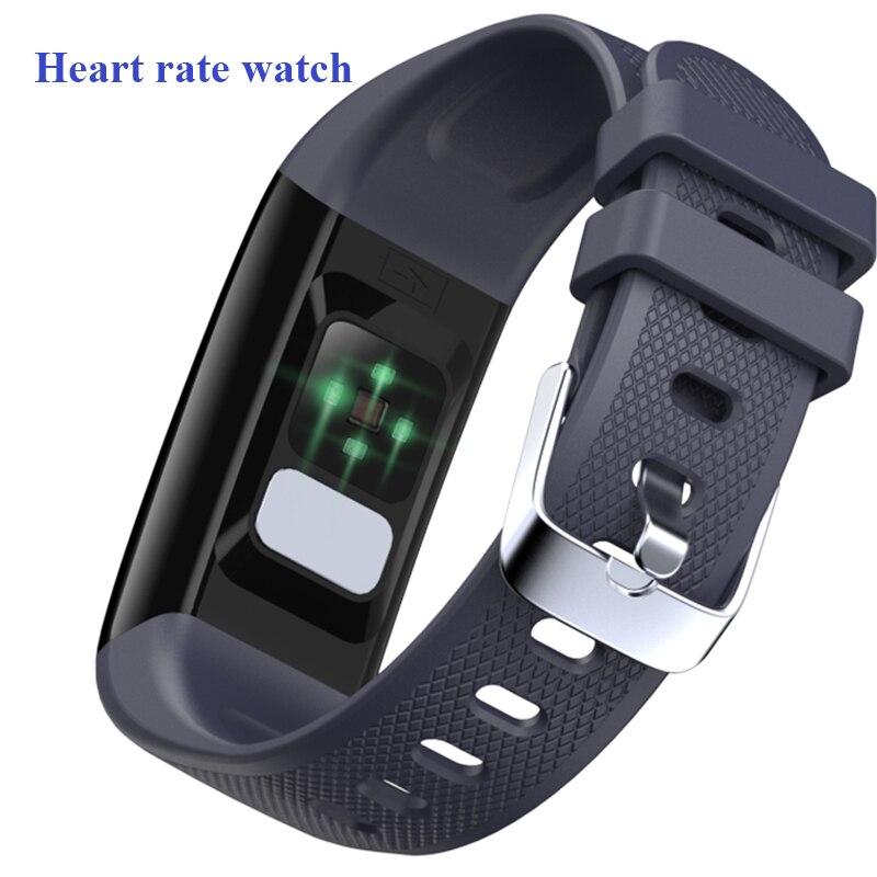 Reloj inteligente ECG presión arterial pulsera impermeable IP67 1,14 pulgadas pulsera inteligente para mujeres rastreador de sueño pk e70 e04 n88 reloj inteligente Reloj de presión arterial ECG resistente al agua IP67