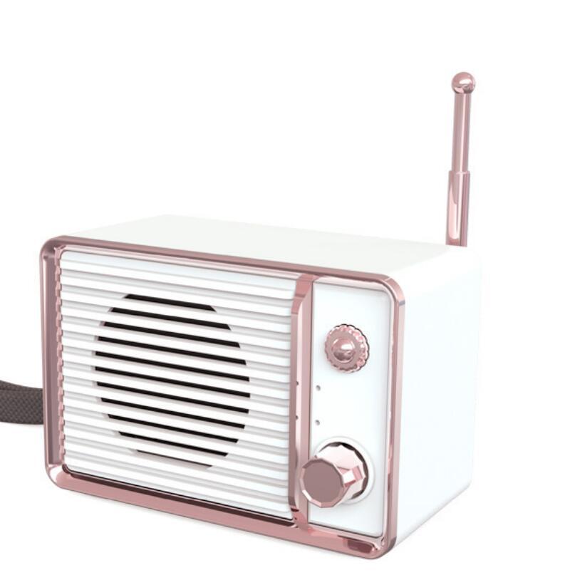 Wireless Retro Cute Bluetooth Speaker Car Portable Subwoofer Outdoor Mini Speakers Travel Music enlarge