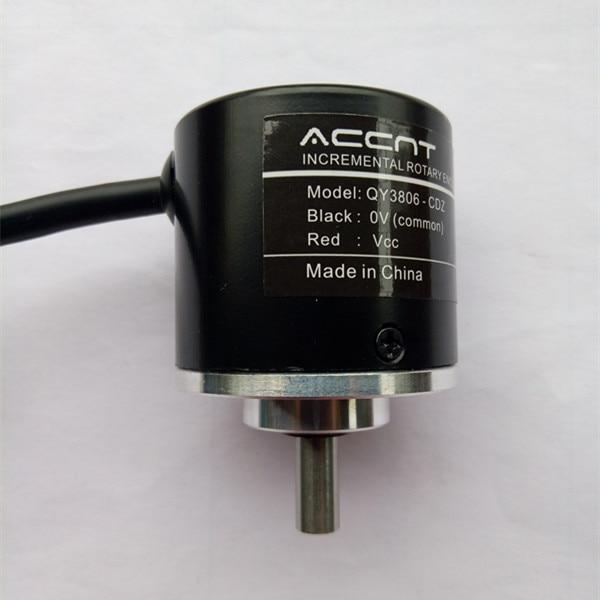 Transmisión de línea larga TTL salida 5V diferencial magnetoeléctrico codificador rotatorio Incremental ABZ fase Orthogonal 512 línea de pulso