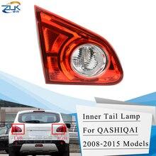 ZUK-feu arrière feu arrière   Pour Nissan Qashqai Dualis J10 2008 2009 2010 2011 2012 2013 2014