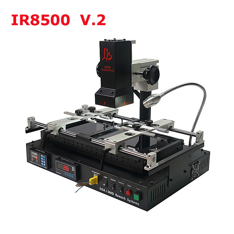 Free Shipping LY IR8500 V.2 Infrared BGA Rework Station 220V IR Soldering Station for Motherboard Mobile Phone Chip Repairing