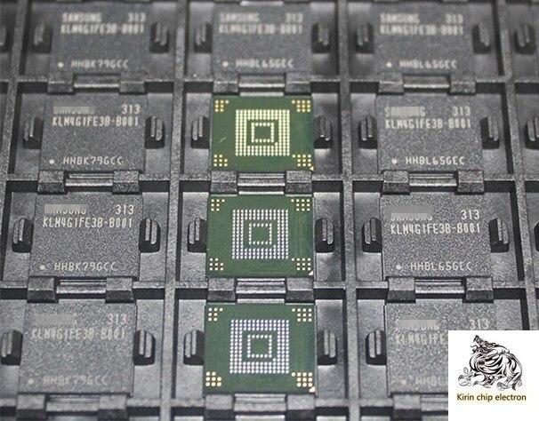 2 шт./лот, карта памяти KLM4G1FE3B B001 BGA, чип памяти KLM4G1FE3B для чтения слов