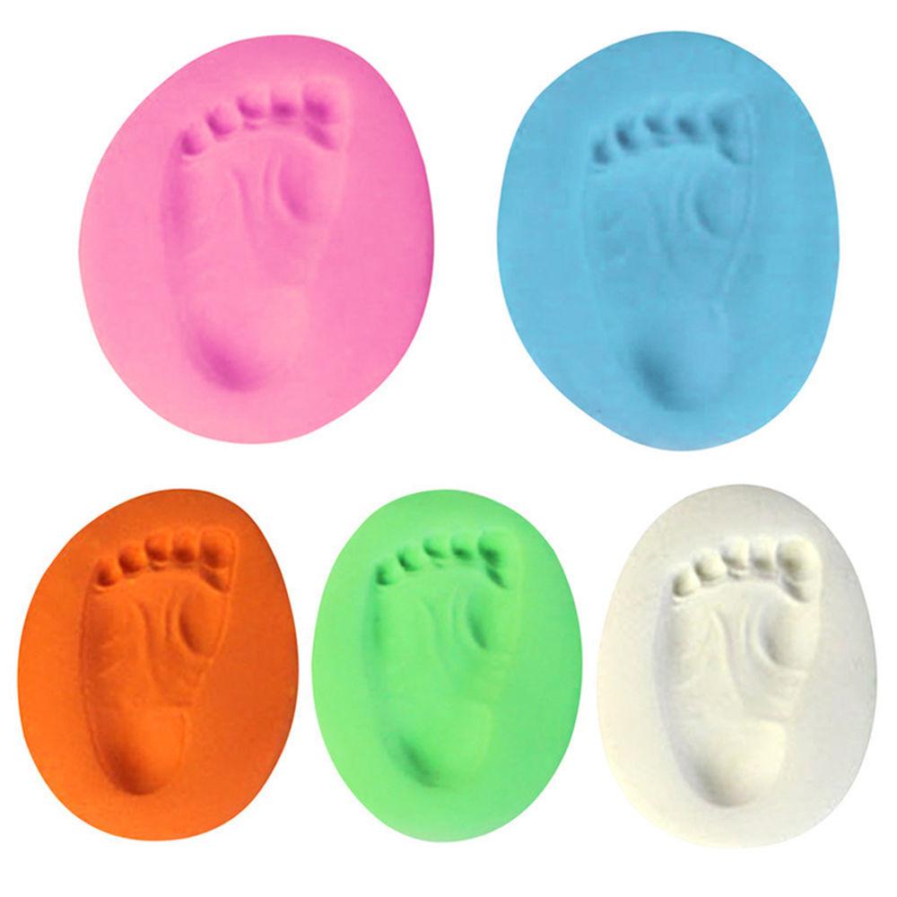 Infant Toy Newborn Handprint Footprint Baby Non-Toxic Casting Toddler Imprint Kit Parent-child Hand Inkpad FingerprintWatermark