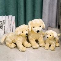 304050cm simulation golden retriever doll plush toys cute puppy dog stuffed animal dolls children women birthday gift loyaldog