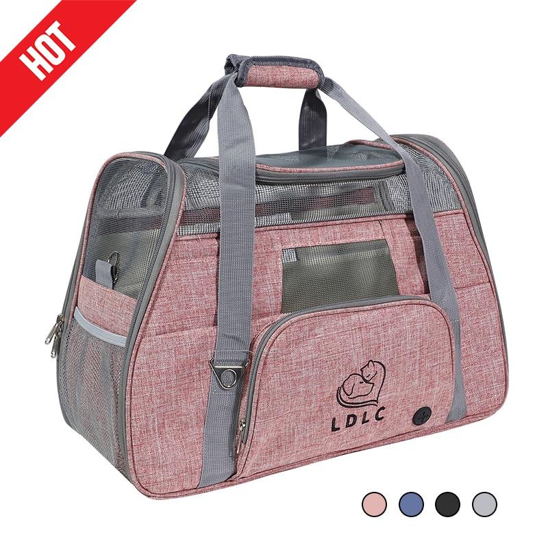 Bolsa de viaje portátil para mascotas de bolsa de malla de Escocia para cachorros y gatos... portador de Chihuahua