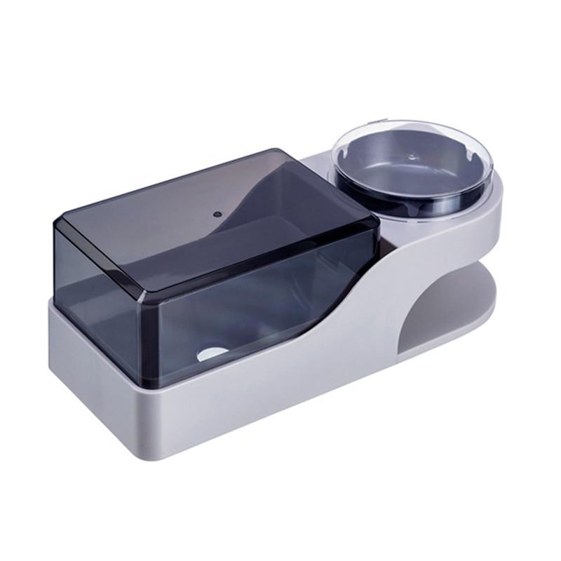 Soporte de papel higiénico resistente al agua SHGO para montaje en pared, caja de almacenamiento de bandeja de papel higiénico con Cenicero