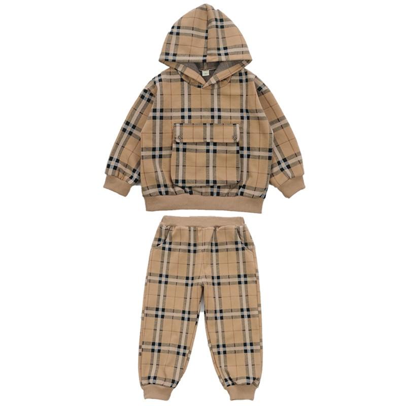 موضة الأولاد ملابس رياضية منقوشة البدلة ، الدب الرياضة والترفيه قطعتين البدلة