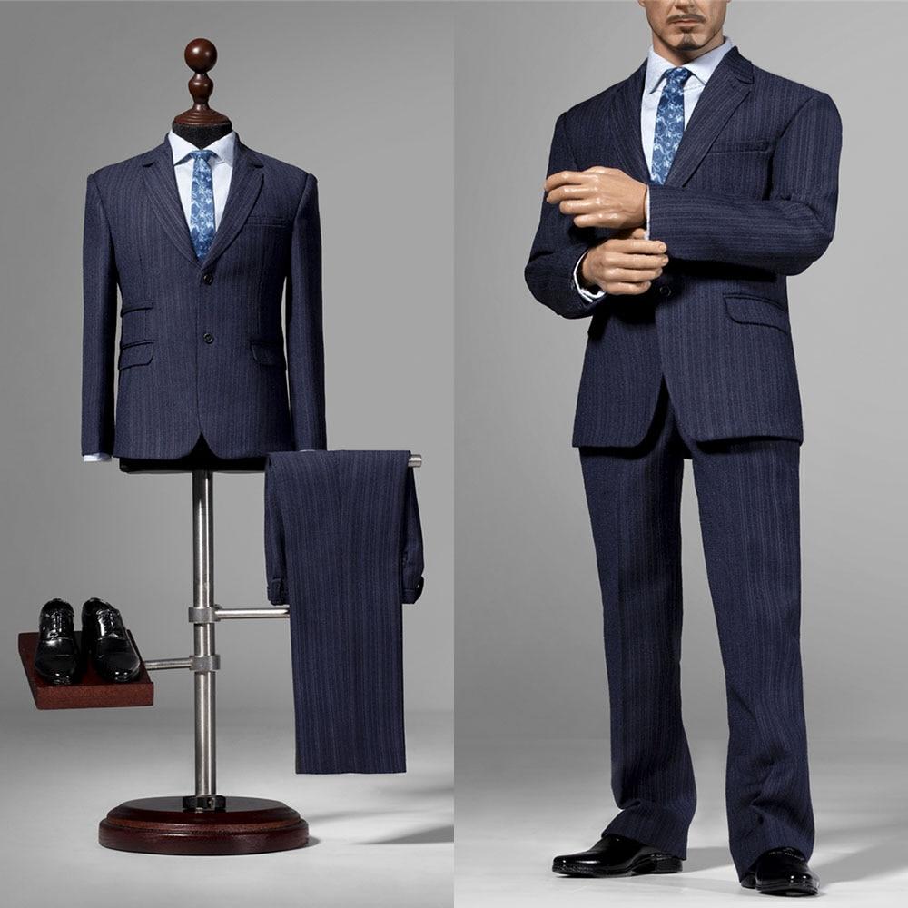 Pre-sale X35 1/6 Soldier Clothes Accessories Arms Dealer Tony Man Suit Tops Pants Shoes for 12 inch Action Figure Model Toy