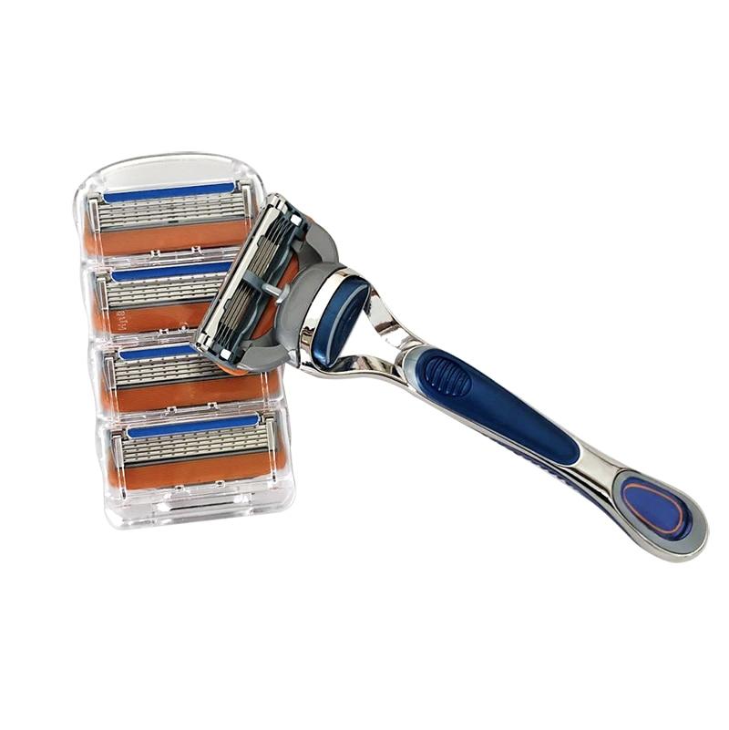 4 unids/lote excelente de 5 capas de hojas de afeitar Compatible para...