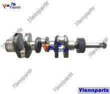 Для Yanmar 3T82B коленчатый вал Шатун подшипника Полный комплект прокладки головки для YM 2001 2010 2020 трактор 3T82B-N двигатель