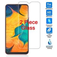 Protecteur décran, 2 pièces, Film en verre trempé 9H pour Samsung Galaxy A50 A30 A10 M10 M20 A70 A20 M30 C5 C7 C8 C9 Pro