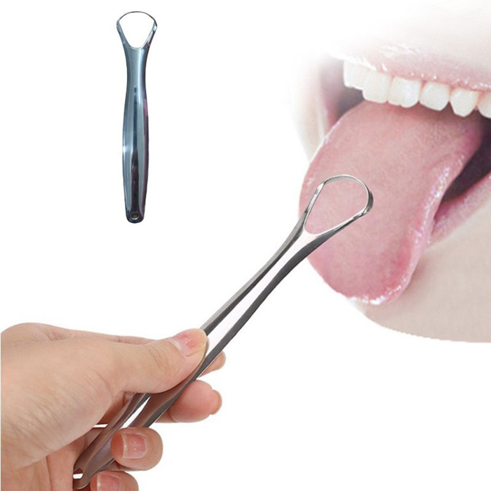Tongue Scraper Brush Cleaner Cleaning Oral Remove Coating Hygiene Care