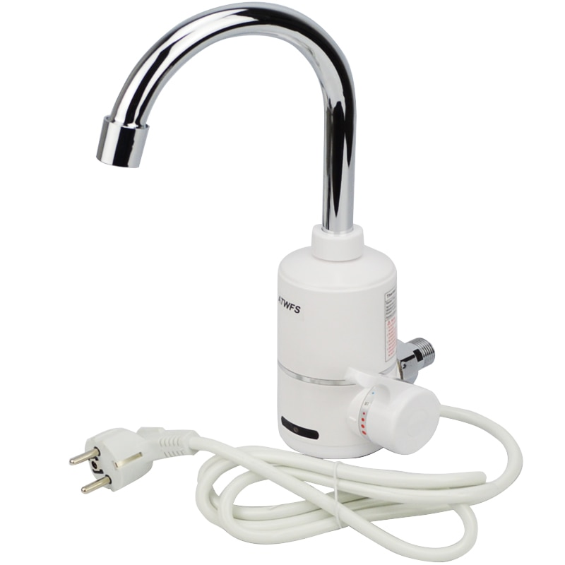 ATWFS 3000 واط جديد لحظة سخان مياه الحنفية سخان مياه كهربي المطبخ صنبور المياه لحظية هدية الكريسماس