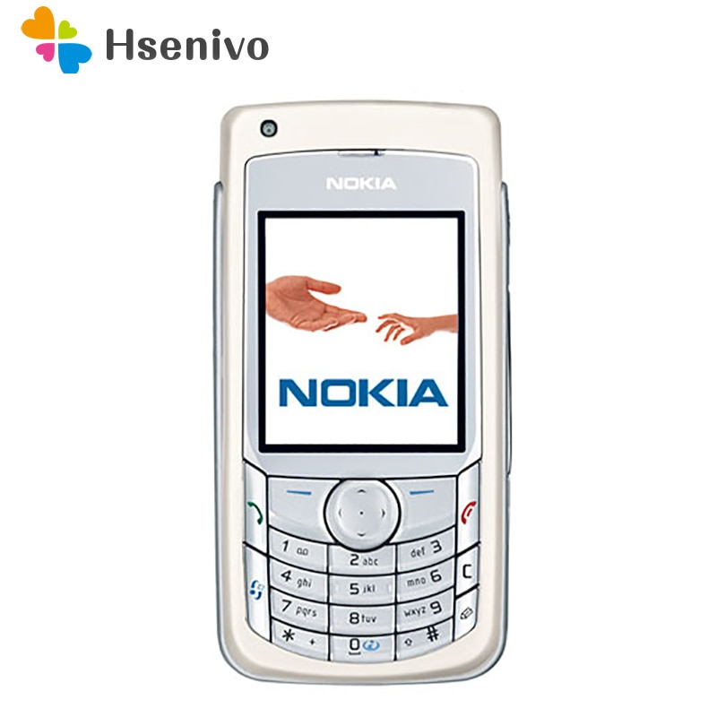 Nokia 6681 Восстановленный-Оригинальный разблокированный Nokia 6681 телефон 2,2 дюймов 2G/3G с сотовым телефоном Бесплатная доставка