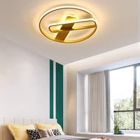 modern led gold chandelier with remote control rectangle acrylic ceiling lamp lighting decor for living room bedroom kitchen