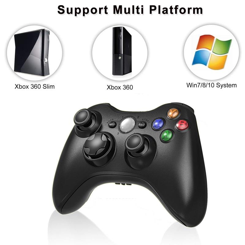 Gamepad para Xbox Controle para Microsoft Joystick para pc 2.4g sem Fio Console Controlador Receptor Xbox Jogo Win7 – 8 10 360