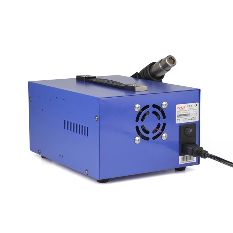 YIHUA 853D 3In1 Hot Air Soldering Station LED Digital Display USB Welding Rework Station For Cell-phone BGA SMD PCB Repair Tools enlarge