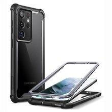 I BLASON для Samsung Galaxy S21 Ultra Coque Fundas Capa 6,8 дюймов (2021) Ares полный корпус прочный бампер чехол без Встроенный протектор экрана Бамперы      АлиЭкспресс